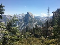 Half Dome in Yosemite royalty free stock photo