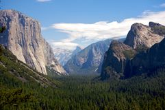 Yosemite National Park valley Stock Images