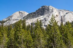 Yosemite National Park. View of Yosemite National Park Royalty Free Stock Image