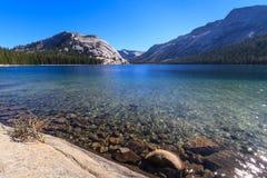 Yosemite National Park, View of Lake Tenaya (Tioga Pass) Stock Photo