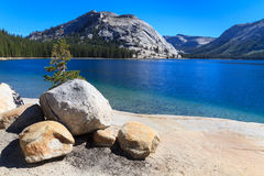 Yosemite National Park, View of Lake Tenaya (Tioga Pass) Stock Images