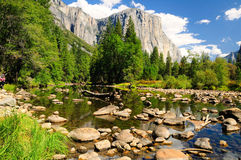 Yosemite national park. Royalty Free Stock Image