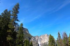Yosemite National Park water fall Royalty Free Stock Images