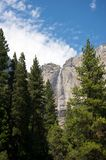 Yosemite National Park water fall during Summer Royalty Free Stock Photography
