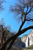 Yosemite National Park waterfall Royalty Free Stock Photo