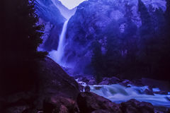 Yosemite National Park waterfall Royalty Free Stock Image