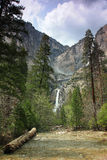 Yosemite National Park - Yosemite Falls Royalty Free Stock Image