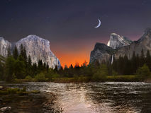 Yosemite Nationalpark Lizenzfreie Stockbilder