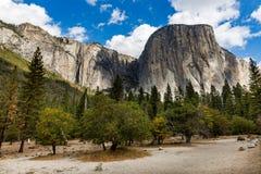 Yosemite nationalpark, Kalifornien fotografering för bildbyråer