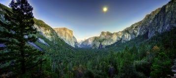 Yosemite nationalpark USA arkivfoto