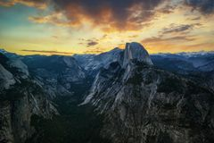 Yosemite nationalpark USA arkivfoton