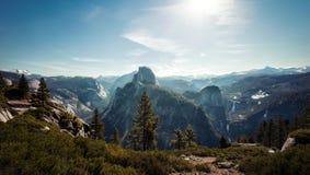 Yosemite nationalpark USA royaltyfria foton