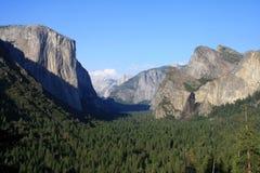 Yosemite Natonal parkerar, El Capitan Arkivbilder