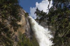 Yosemite - Nevada Falls Royaltyfri Bild
