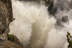 Yosemite - Nevada Falls Fotografering för Bildbyråer