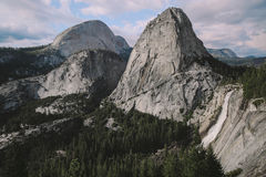 Yosemite - Nevada Falls Trail Immagini Stock