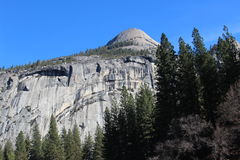 Yosemite North Dome Landscape Royalty Free Stock Images