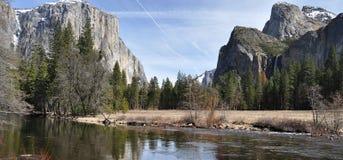 Yosemite NP Fotografia Stock Libera da Diritti