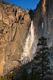 Yosemite-Oberleder-Fälle Lizenzfreies Stockfoto