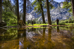 Yosemite odbicia góry Obrazy Stock