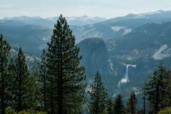 Yosemite panoram Stock Afbeelding