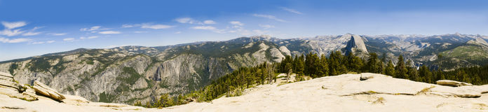 Yosemite panorama Stock Photos