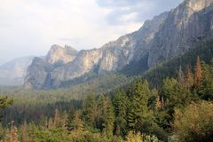 Yosemite park Fotografia Royalty Free