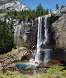 Yosemite Park falls view Royalty Free Stock Photo