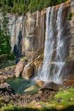 Yosemite Park falls view Stock Images