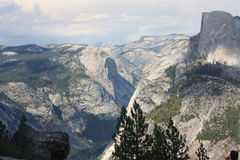 Yosemite  Park panorama Royalty Free Stock Photography