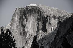 Yosemite Przyrodnia kopuła - bw filmu adry skutek Zdjęcie Royalty Free