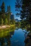 Yosemite reflexion Royaltyfri Bild