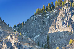 Yosemite Ridge in Morning. A ridgeline at the top of Yosemite Valley in the morning light Stock Photography