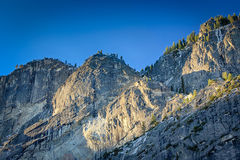 Yosemite Ridge in Morning. A ridgeline at the top of Yosemite Valley in the morning light Royalty Free Stock Photo