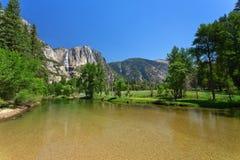 Yosemite river Stock Photos