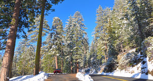 Yosemite river in Winter Royalty Free Stock Photography
