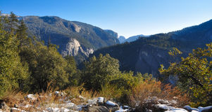 Yosemite river in Winter Royalty Free Stock Images