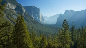 Yosemite's half-dome Stock Images
