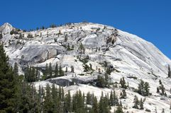 Yosemite's rocky mountain Stock Photo