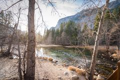 Yosemite See Stockfoto