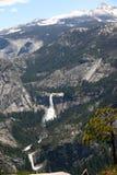 Yosemite - sierra montagnes de Nevada Images libres de droits