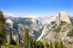 Yosemite and the Sierras Royalty Free Stock Image
