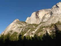 Yosemite: Sotto la cupola mezza fotografia stock
