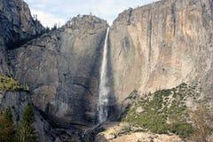 Yosemite spada, obywatel, park, California widok od chlanie mosta zdjęcia royalty free