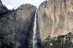 Yosemite spada, obywatel, park, California widok od chlanie mosta obrazy stock