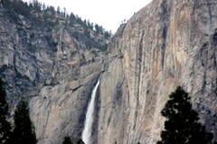 Yosemite spada, obywatel, park, California widok od curry wioski fotografia stock