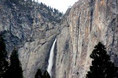 Yosemite spada, obywatel, park, California widok od curry wioski zdjęcia royalty free