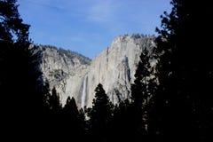Yosemite spada, obywatel, park, California widok od curry wioski kopuły Północnego parking obrazy stock