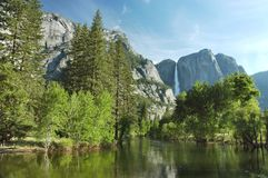 Yosemite In The Spring Stock Photo