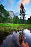 Yosemite Sunset Reflections royalty free stock images